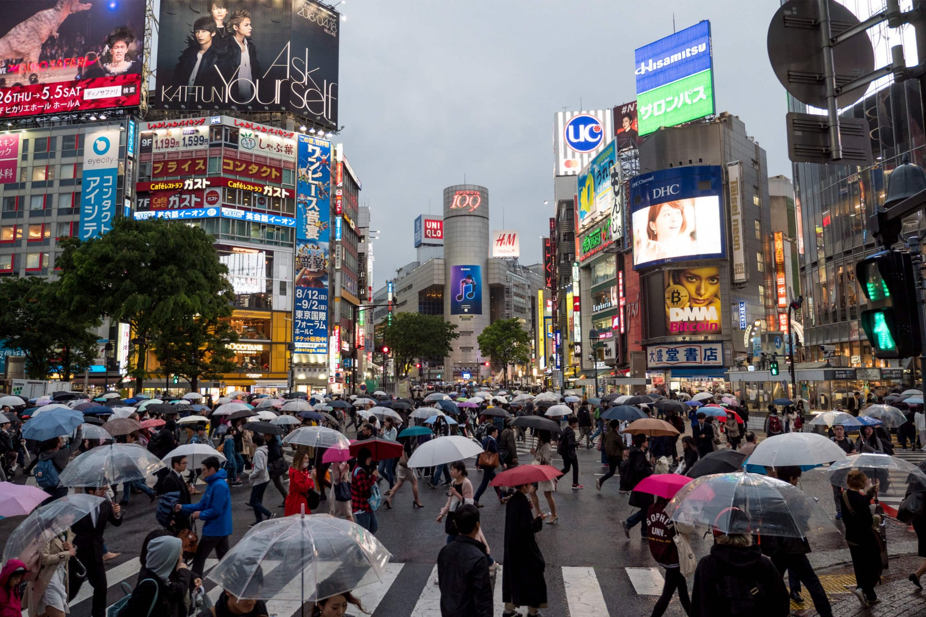 Najfrekventovanejšia križovatka na svete v časti Shibuya. foto   Martin  ŠIMKO… e55eadd1576