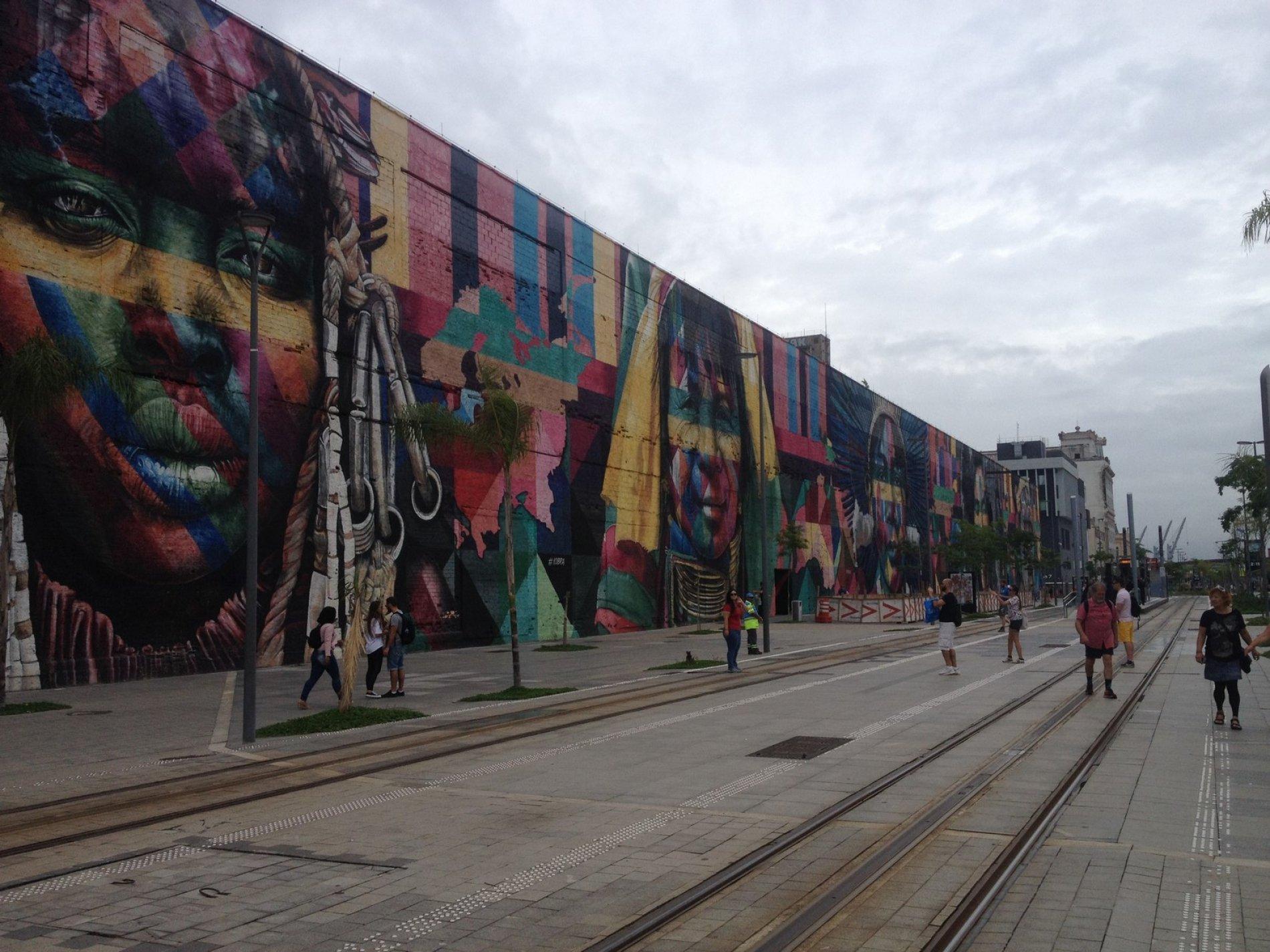 Jedna z najväčších street artových malieb na svete namaľovaná jednotlivcom ed819e32692