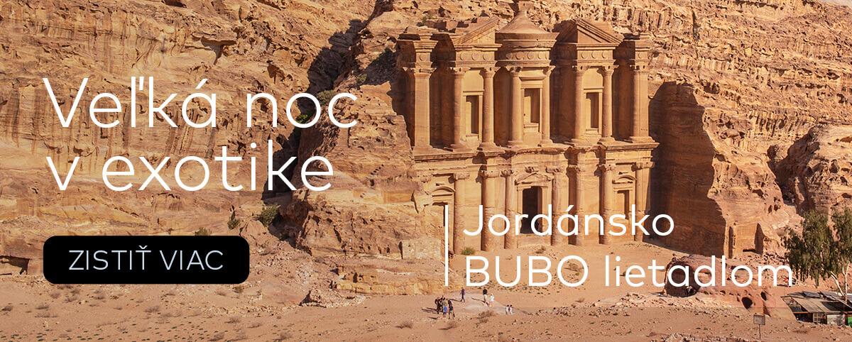 Dovolenka cez Veľkú noc v Jordánsku