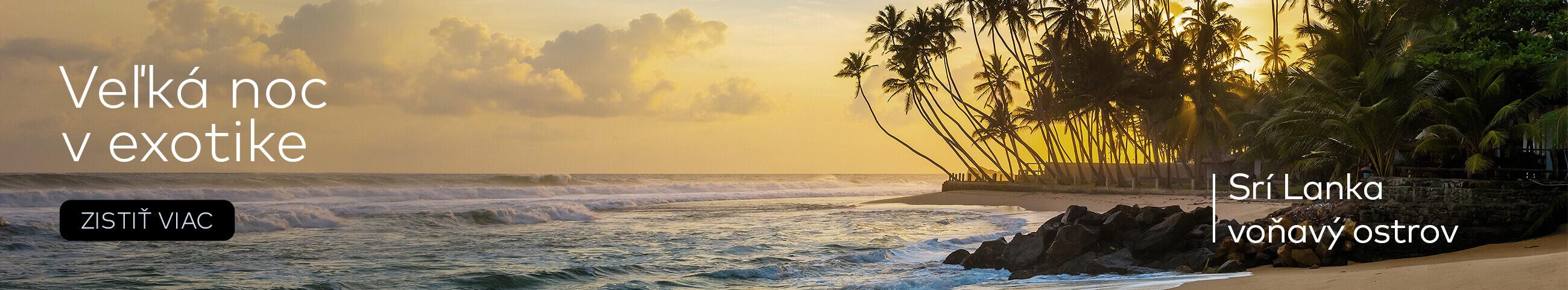 Dovolenka cez Veľkú noc na Sri Lanke