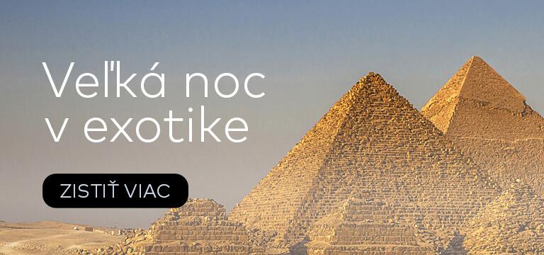 Dovolenka cez Veľkú noc v Egypte
